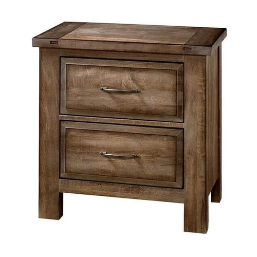 Artisan & Post Maple Road 2-Drawer Nightstand in Maple Syrup Finish