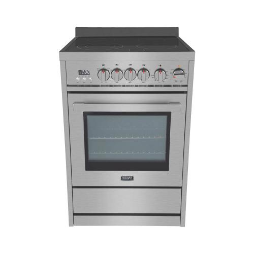 24 in Electric Range in Stainless Steel