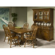Classic Oak 42 x 60-96 Trestle Base
