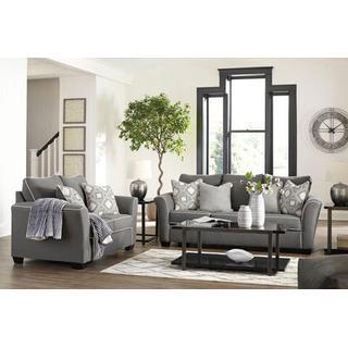 Domani Sofa and Loveseat Set