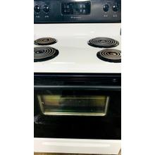 USED 30-Inch Standard Clean Freestanding Electric Coil Range- - E30WHCOIL-U SERIAL #21