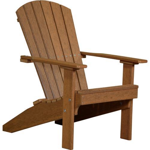 Lakeside Adirondack Chair Premium Antique Mahogany