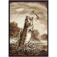 See Details - Medium - Adventures Bass Fishing 5x8 Rug