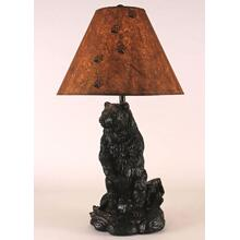 Standing Bear Pot Table Lamp