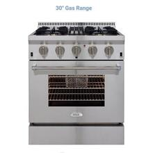 30in All Gas Pro Range