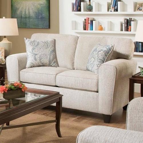 American Furniture Manufacturing - Uptown Loveseat-Ecru