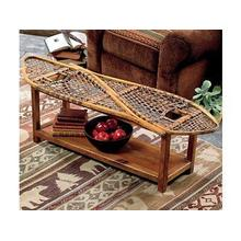 Vintage Snowshoe Coffee Table - Bench