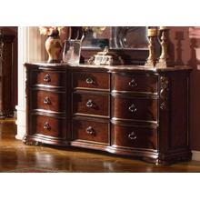 Arabella Dresser with Genuine Marble Top