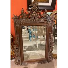 View Product - LaBarge Hand Craved Mirror - A