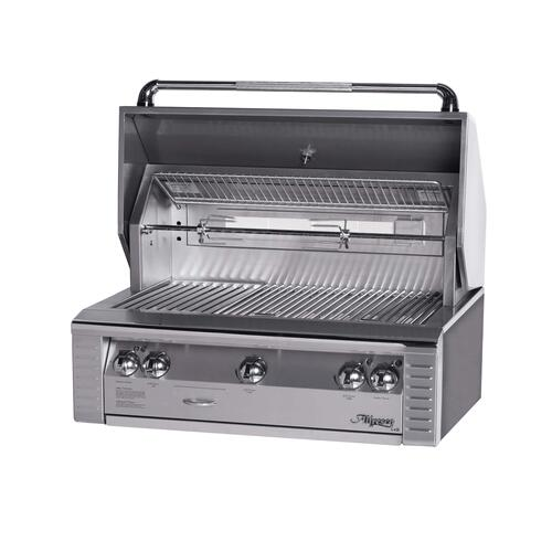 """Alfresco - 36"""" Built-in Grill with Sear Zone"""