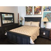 See Details - Calistoga Collection Distressed Charcoal Finish