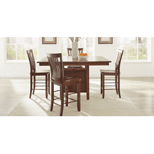 Hannah Table with Sydney Storage Pedestal Base