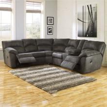 See Details - Tambo 2 Piece Dual Reclining Sectional