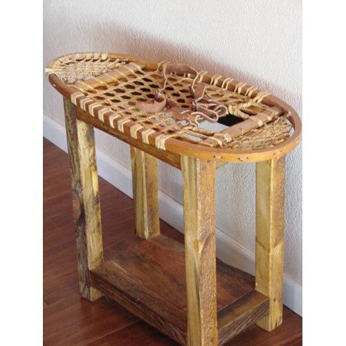 Snowshoe End Table