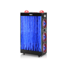 LED Speaker With Waterfall, Bluetooth, Digital Display, 10K Watts