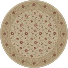 "Serenity / Ivory - 1132 D Size 5'3"" ROUND"
