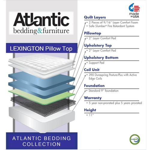 Atlantic Bedding Collection - Lexington - Pillow Top