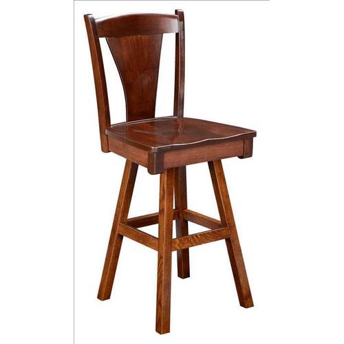 Amish Furniture - Woodville Stool