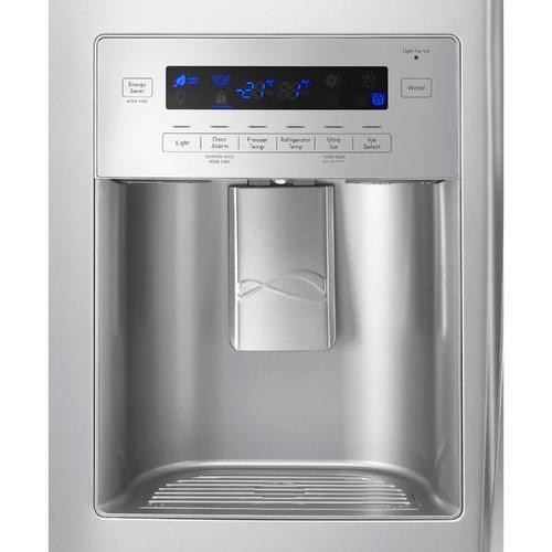 24.2 cu. ft. French Door Bottom-Freezer Refrigerator - Stainless Steel