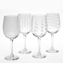 Mikasa® Cheers  White Wine Glasses, Set of 4