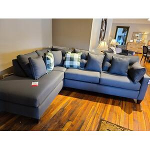 CLEARANCE Spinnsol Iron Chaise Sectional