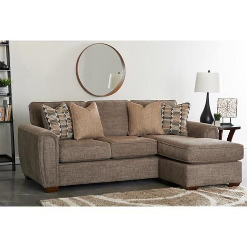 Sofa with floating Chaise
