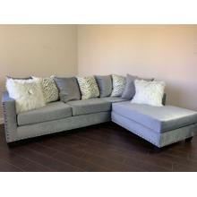 2 PC Sectional - Grey