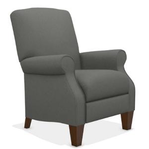 La-Z-Boy - Charlotte High Leg Reclining Chair in Grey    (28-931-C161053,40026)