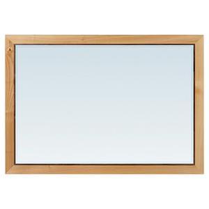 Whittier Wood - DUET Addison Rectangular Mirror Duet Finish