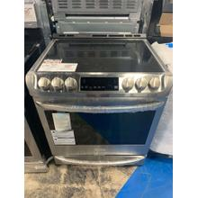 6.3 cu. ft. Electric Slide-in Range with ProBake Convection® and EasyClean® **OPEN BOX ITEM** West Des Moines Location