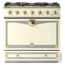 Ivory Albertine 90 with Polished Brass Accents