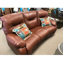Power Conversational Sofa with Genuine Italian Leather