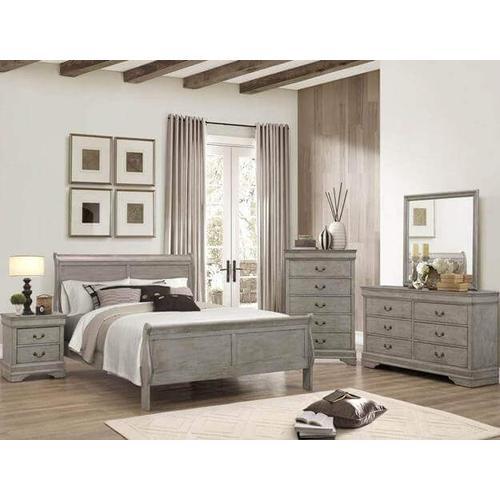 Crown Mark B3450 Louis Phillip Full Bedroom