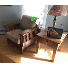 Product Image - Mission accent chair.