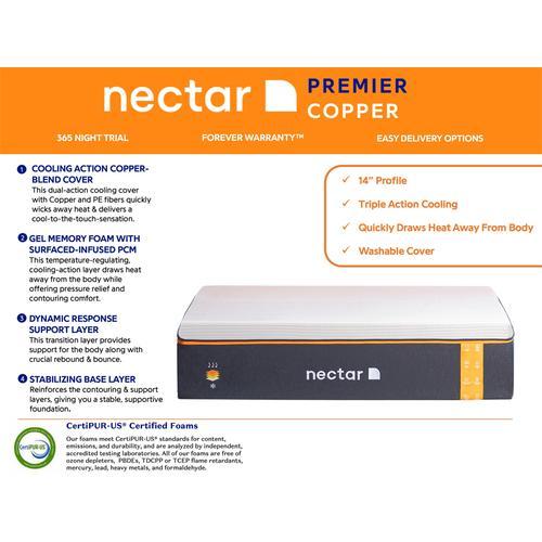 Gallery - Nectar Premier Copper - Queen Mattress