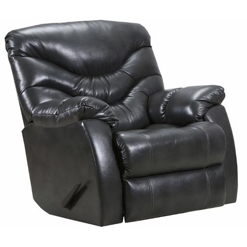 4219-18 Getaway Swivel Rocker Recliner - Yellowstone Charcoal Leather
