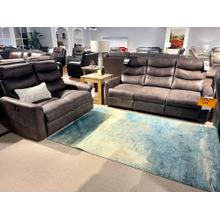 See Details - CLOSEOUT Reclining Sofa & Loveseat