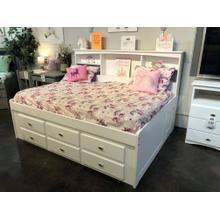 See Details - Roomsaver Bookcase Storage Bed Full Size with 6 Drawers