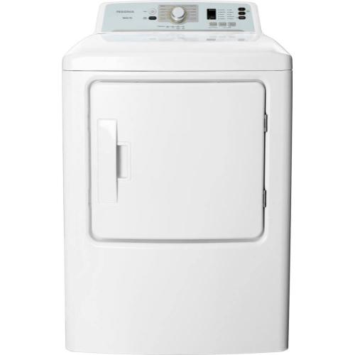 6.7 Cu. Ft. 10-Cycle Electric Dryer - White