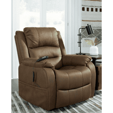 See Details - Whitehill Power Lift Chair - Chocolate