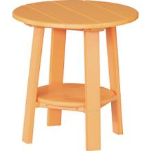 Deluxe End Table Tangerine