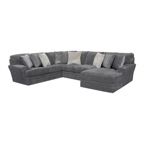 Jackson Furniture - Big Kahuna 3-Piece Sectional with RAF Chaise
