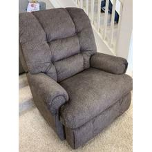 Stanton Power Big Man's Recliner with Power Headrest and Power Lumbar . Seamount Walnut