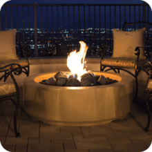 "Louvre 48"" Round Fire Pit"