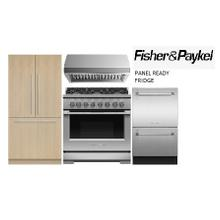 See Details - FISHER AND PAYKEL 36 IN RANGE PANEL READY FRIDGE