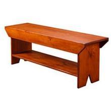 Bench with Shelf
