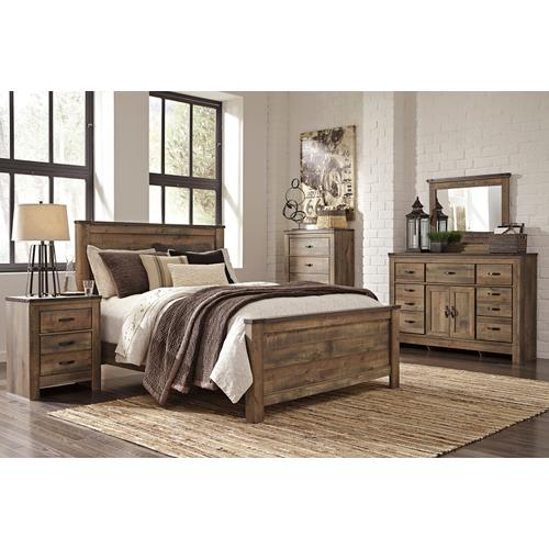 Packages - Trinell 6pc Queen Panel Bedroom Set