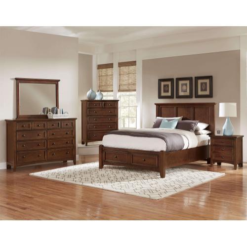 Queen Cherry Mansion Bed