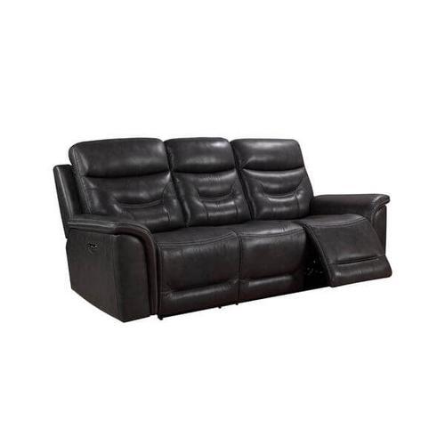 Product Image - Bullard Power Reclining Sofa in Gray Leather