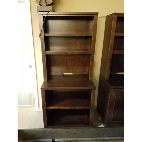 Flexsteel - Theodore Bookcase Hutch & Base (HOFCRE013 & HOFBOO016)